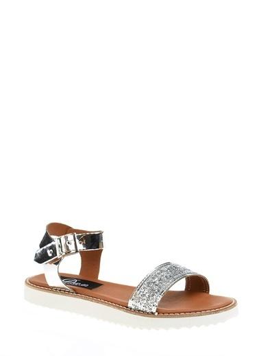 Derigo Sandalet Gümüş